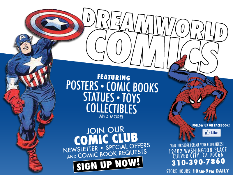 Dreamworld Comic Books