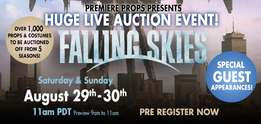 Falling Skies Live Auction Event
