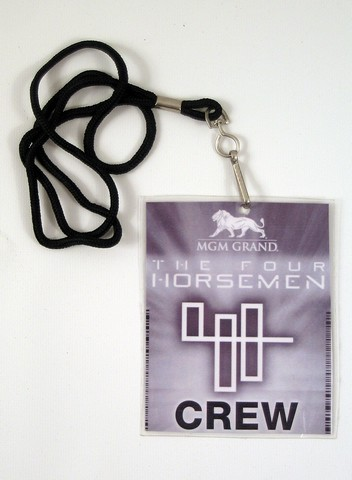 Now You See Me - Now You See Me Four Horsemen Crew Lanyard ...
