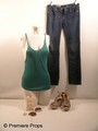 Step Up 4 Emily (Kathryn McCormick) Tank & Jeans Movie Costumes