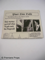 The Beaver Pines Time Daily Newspaper Movie Props
