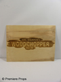 The Beaver Woodchopper Kit Sign Movie Props