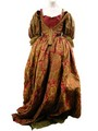 Musketeers Milady (Milla Jovovich) Gold Dress Movie Costumes