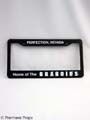 "TREMORS 3  ""Graboids� License Plate Frame MOVIE PROPS"