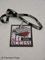 Warrior Sparta All Access Official Pass Movie Props