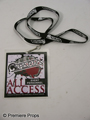 Warrior Sparta All Access Personnel Pass Movie Props