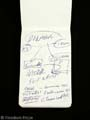 1408 - Mike's (John Cusack) Hero Handwritten Notebook MOVIE PROP